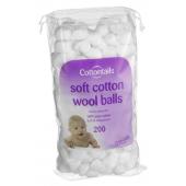 Cotton Wool Balls 0.6g 200's