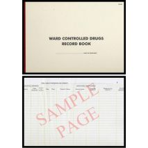 Ward Controlled Drug Record Book