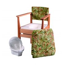 Deluxe Commode - Flower Basket