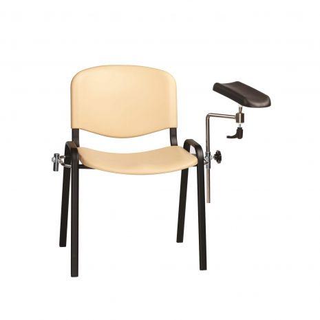 Ergonomically designed moulded seat & back (option)