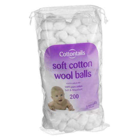 Cotton Wool Balls 0.6g 200's