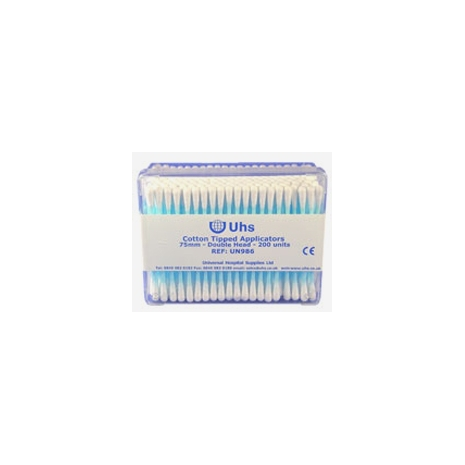 Cotton Buds, Double Ended - 200 Pack