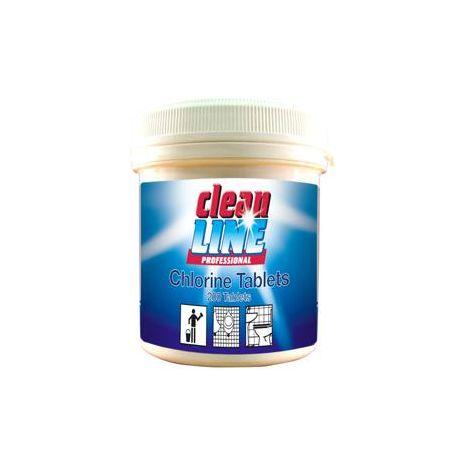 Cleanline Chlorine Tablets - 200 Tub