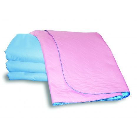 "Bed pad, no tucks, non-slip waterproof backing 34"" x 36"""