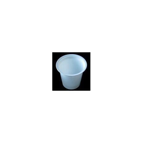 Sputum Pots with Lids - 50 Pots + 50 Lids