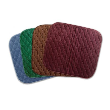 Velour chair pad