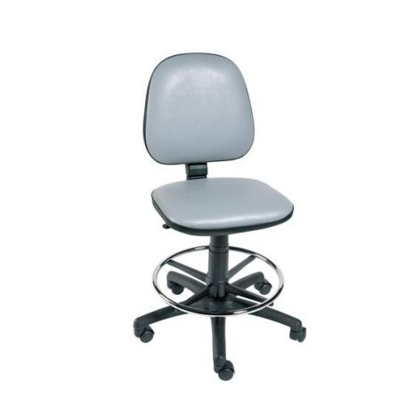 Gas-Lift Chair with Foot Ring