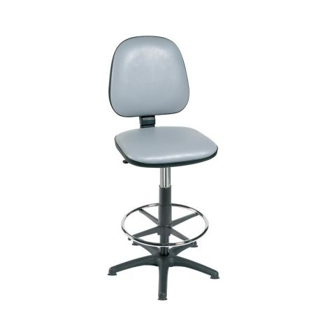 High Level Gas-Lift Chair with Foot Ring