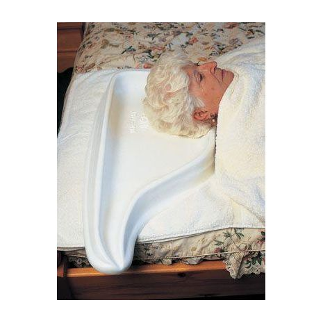 Hair Washing Tray for bed use