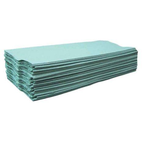 C-Fold Hand Towels - Green