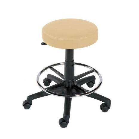 Gas Lift Stool with Foot Ring