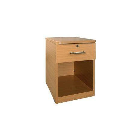 Bedside Cabinet 1 Drawer/Open