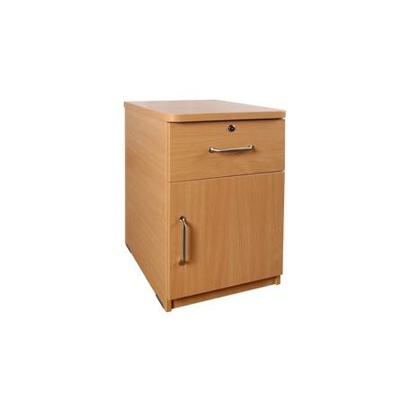 Bedside Cabinet 1 Door/1 Drawer
