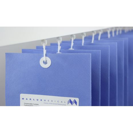 Marlux Universal Disposable Curtains 4.2m Wide 1.95m Drop