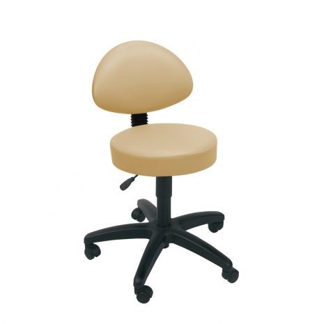 Gas Lift Stool with Back Rest