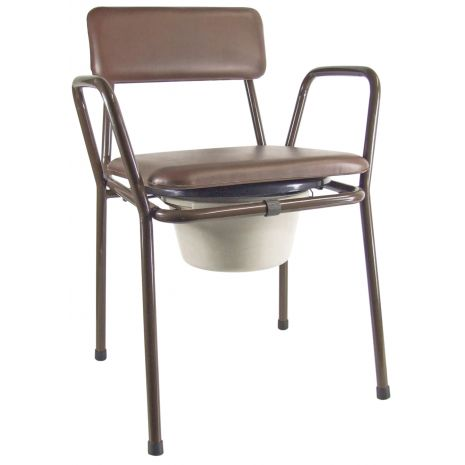 Stacking Commode Chair